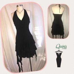 Bebe black evening cocktails dress